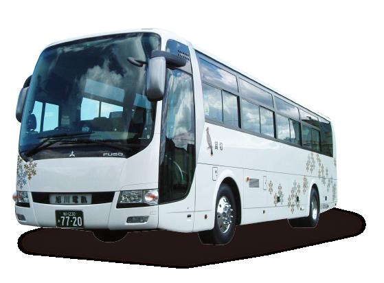 旭川の貸し切りバス